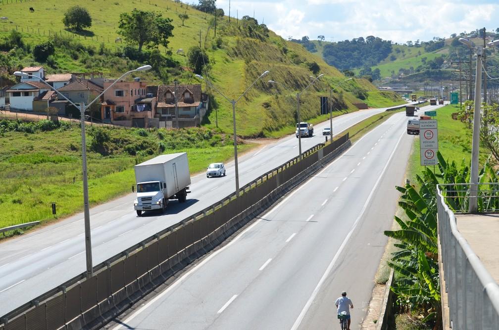 Segundo a CNT, rodovias do Sul de Minas foram classificadas como boas ou regulares (Foto: Lucas Soares / G1)