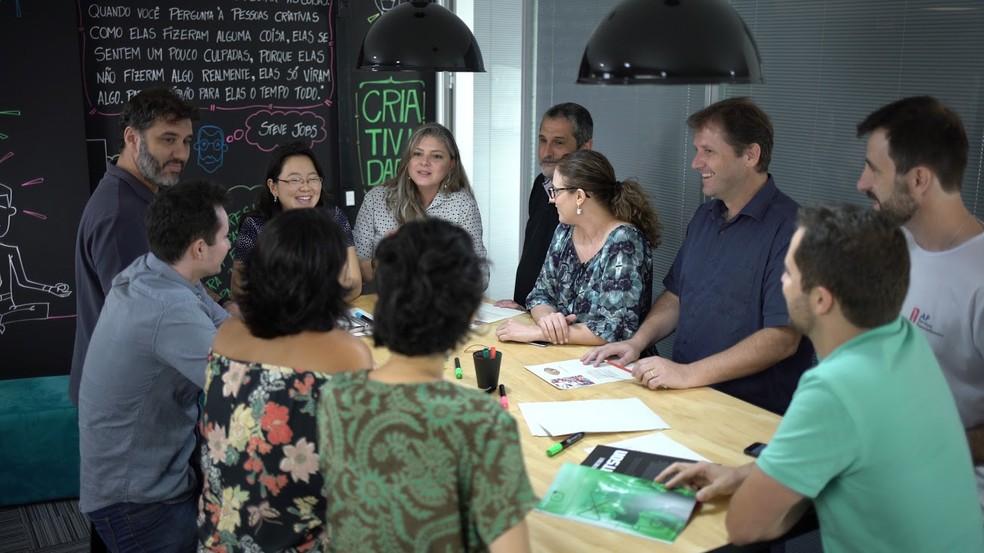 SebraeLab tem coworking, salas de reuniões, estúdio de vídeo e espaço para eventos — Foto: Canal 3