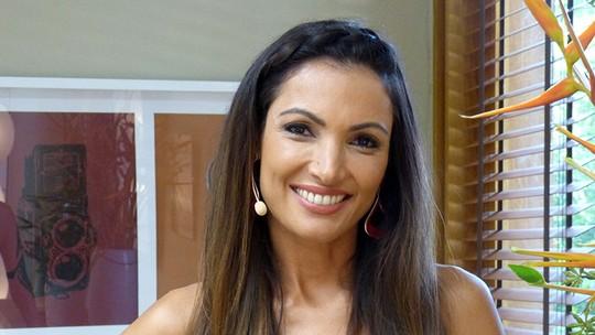 Patrícia Poeta confessa que não resiste a um brigadeiro: 'Tentação'