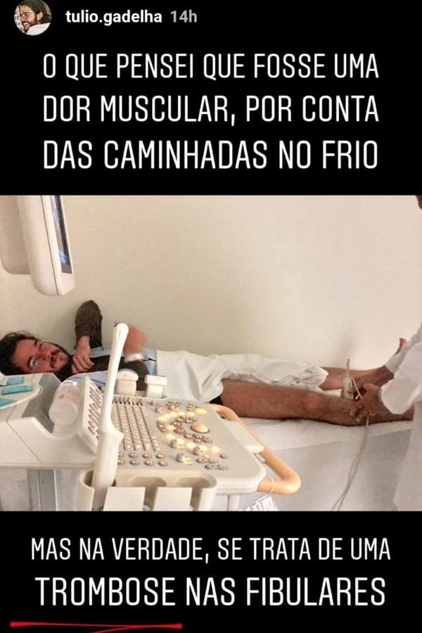 Túlio Gadelha  (Foto: Instagram/Reprodução)