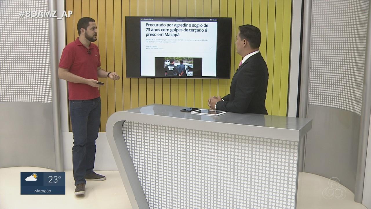 G1 Amapá detalha prisão por agressão e situação crítica no Hospital de Emergência