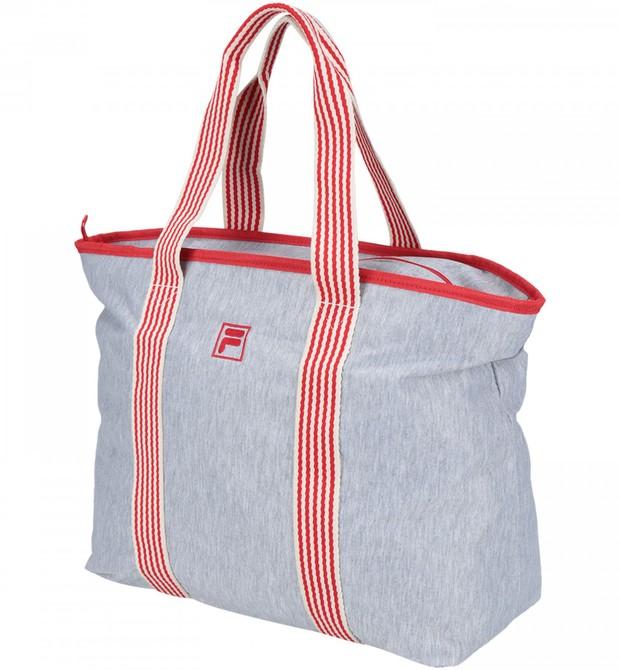 Bolsa Fleece | Confeccionada em poliéster com algodão, tem capacidade de 21 litros | Da Fila, R$129,90 (Foto: Divulgação)