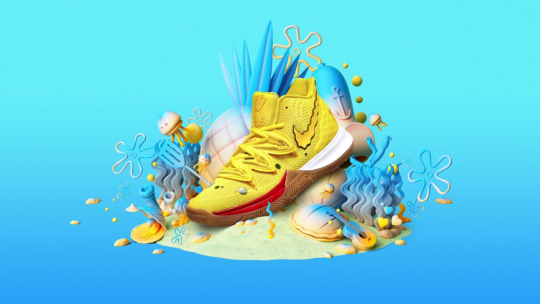 Nike Lanca Colecao De Tenis De Bob Esponja Revista Galileu
