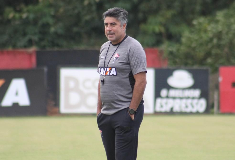 Alexandre Gallo trabalhou no Vitória em 2017 — Foto: Maurícia da Matta/Divulgação/EC Vitória