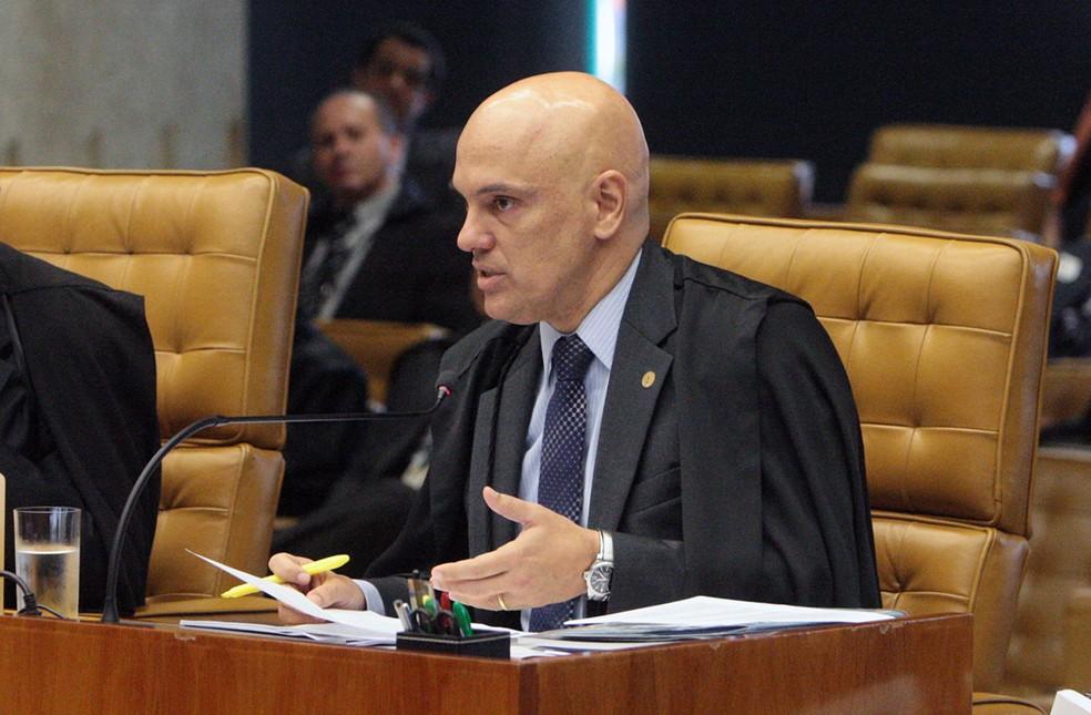 O ministro Alexandre de Moraes, do STF (Foto: Carlos Moura/STF)