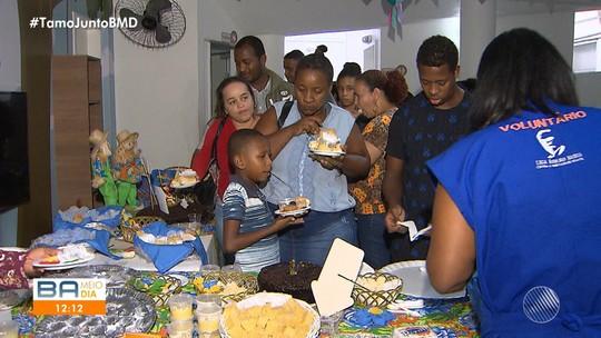 Voluntária organiza festa junina para ajudar pacientes do Hospital Martagão Gesteira
