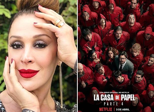 Claudia Raia sugere La Casa de Papel (Foto: Reprodução/ Instagram)