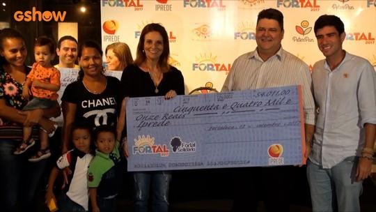 Veja como foi a entrega das doações da campanha Fortal Solidário