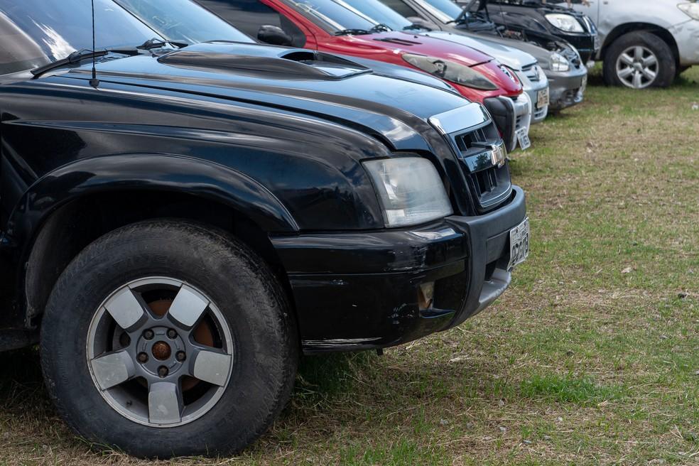 Detran Ceará realiza segundo leilão virtual de automóveis.  — Foto: Divulgação/Governo do Ceará