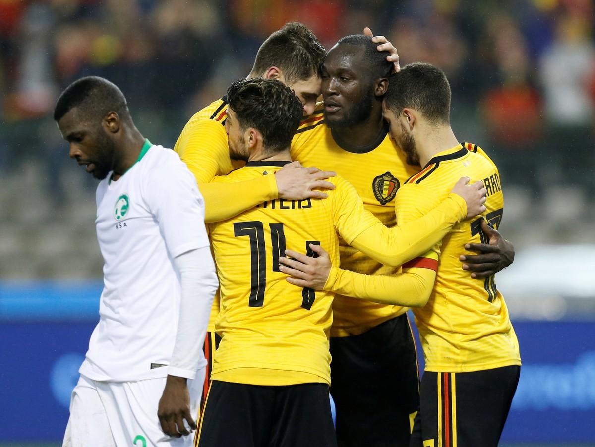 Ranking da Fifa  Alemanha segue líder com Brasil na cola. Bélgica agora em  3º  2fdf86da8cc72
