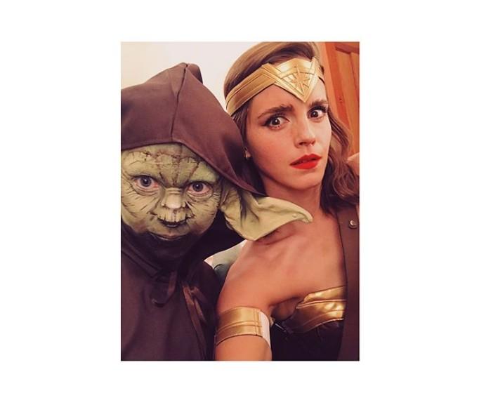 Emma Watson como a Mulher-Maravilha em seu Instagram (Foto: Reprodução/Instagram)