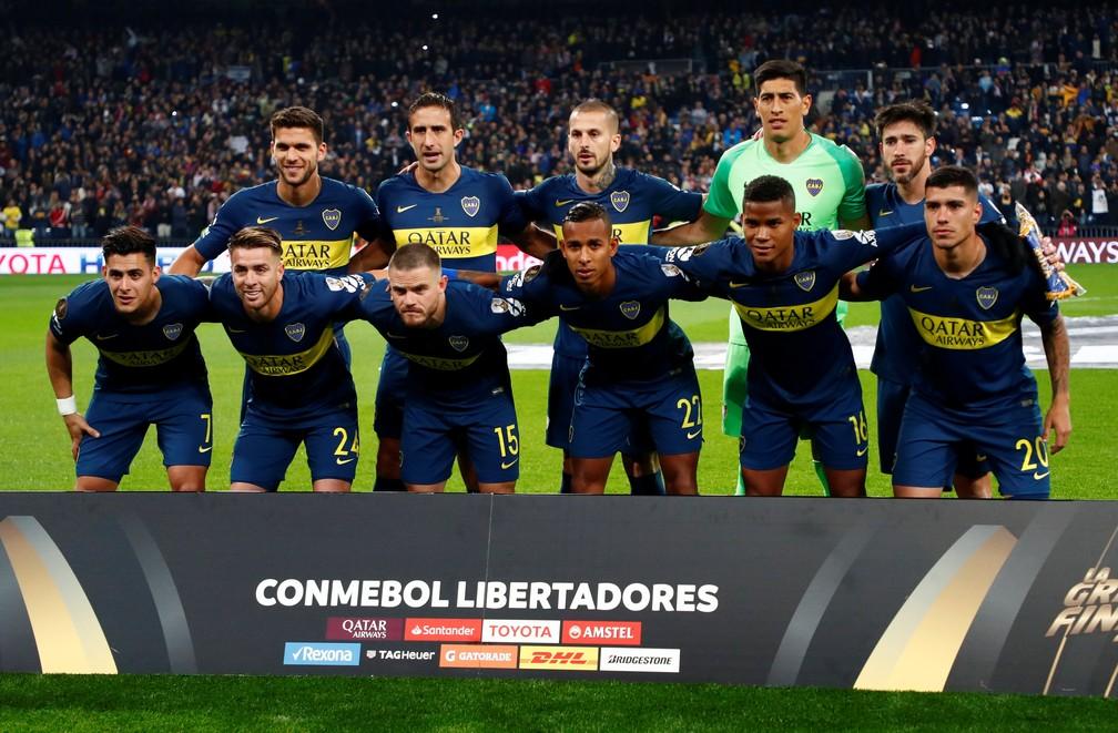 River Plate x Boca Juniors Final Libertadores Santiago Bernabéu — Foto: REUTERS/Juan Medina