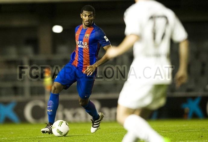 Marlon em ação pelo Barça B (Foto: Paco Largo / FC Barcelona)