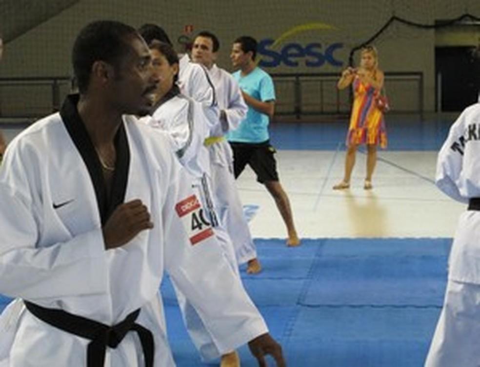 Diogo Silva também vai participar de algumas das solenidades de abertura — Foto: Bruno Gutierrez/G1
