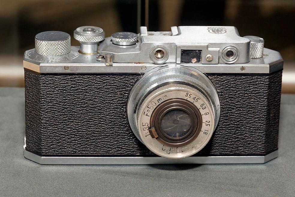 Kwanon foi o primeiro protótipo de câmera criado pela Canon — Foto: Morio/Wikimedia Commons