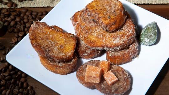 Aprenda como fazer uma deliciosa rabanada frita e já entre no clima de fim de ano
