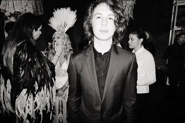 Lucas Jagger, filho de Mick Jagger com Luciana Gimenez (Foto: Instagram)