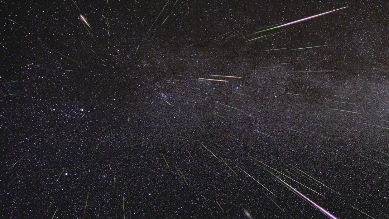 Fenômeno é visto com maior facilidade em agosto (Foto: Divulgação/NASA)