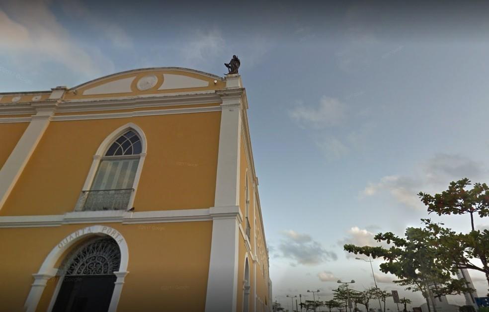 Paço Alfândega fica no Bairro do Recife, no Centro da cidade — Foto: Reprodução/Google Street View