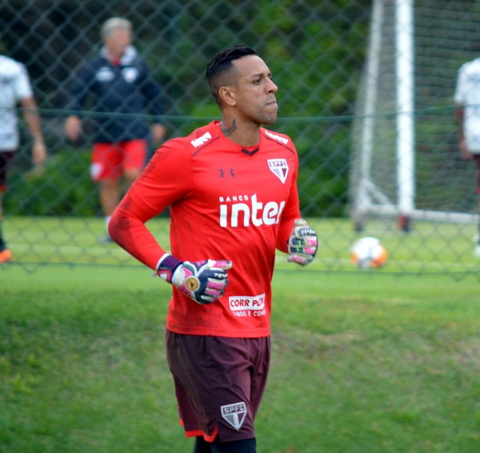 Sidão diz que tripla eliminação de 2017 foi assunto entre atletas do São Paulo (Foto: Érico Leonan / saopaulofc.net)