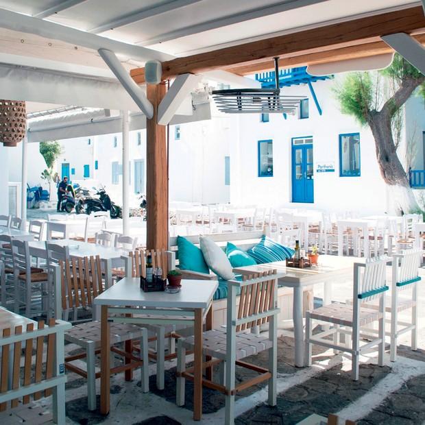 Restaurante Nice'n'Easy, point de comida orgânica no centro da cidade (Foto: Divulgação e Reprodução/Instagram)