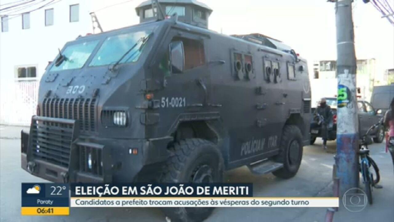 Polícia monta força-tarefa para acompanhar a eleição em São João de Meriti