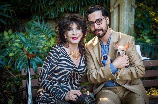 Lady Francisco e Arlindo Lopes em 'Malhação' (Foto: Raquel Cunha/TV Globo)