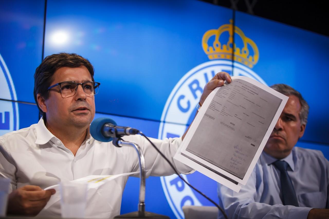 Itair Machado, vice-presidente do Cruzeiro