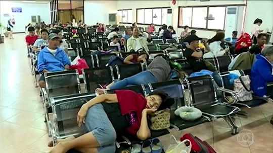 Tufão Mangkhut se aproxima das Filipinas com ventos de 255 km/h
