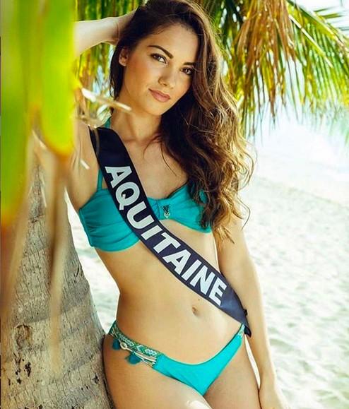 A modelo e candidata a Miss França 2019 Carla Bonesso (Foto: Instagram)