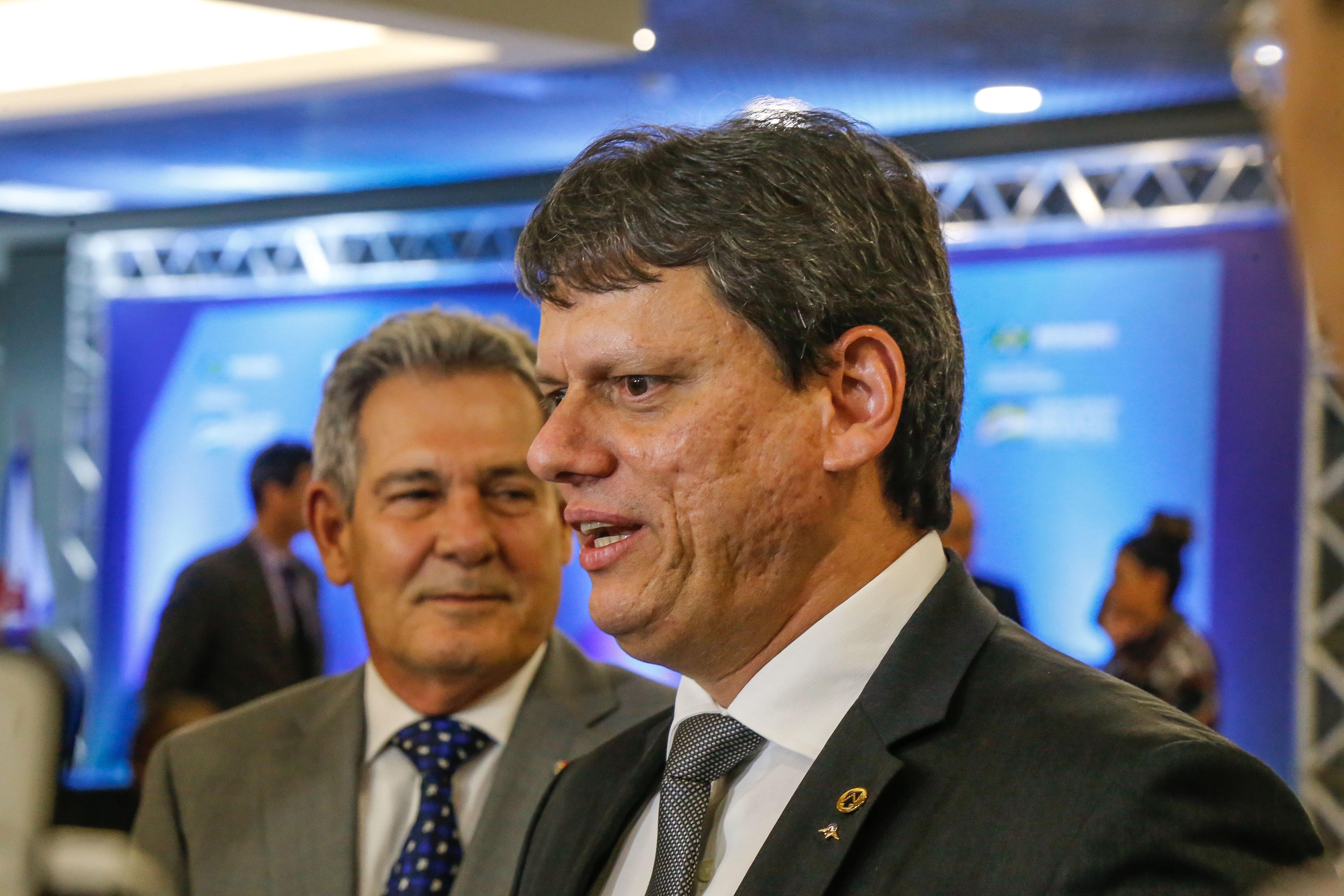 Tarcísio Gomes de Freitas, um dos principais ministros de Bolsonaro