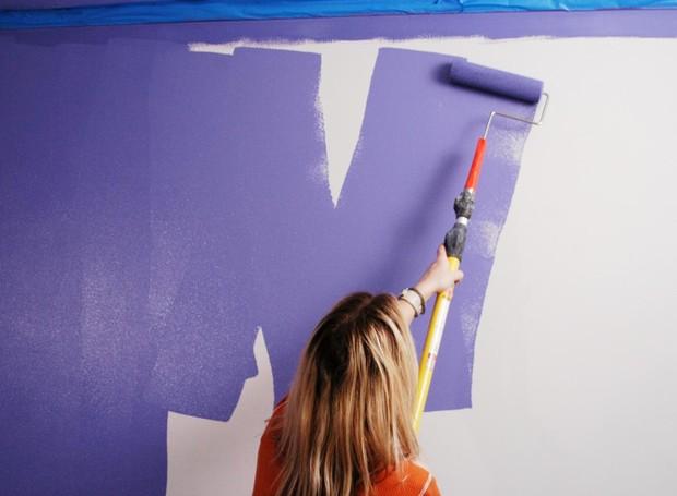 Pintar em forma de W dá um toque mais profissional (Foto: Angels4peace/ Reprodução)