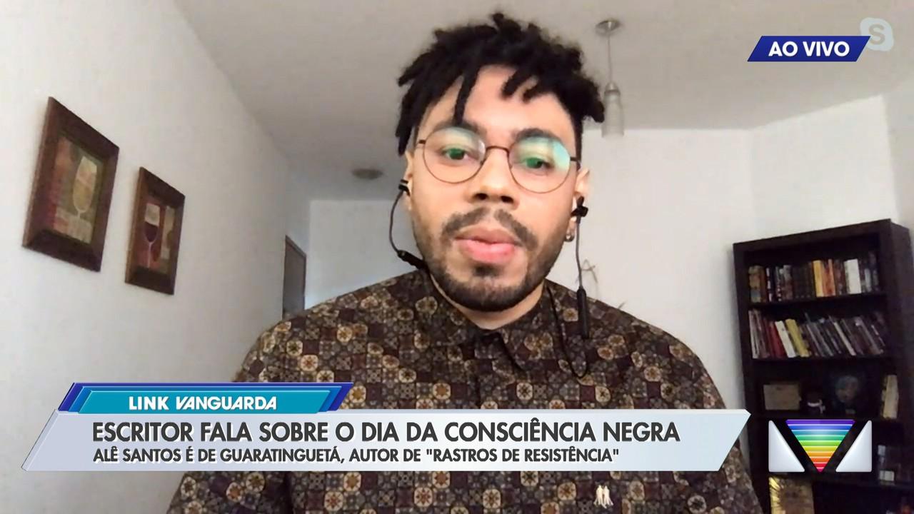 Escritor fala sobre o dia da consciência negra