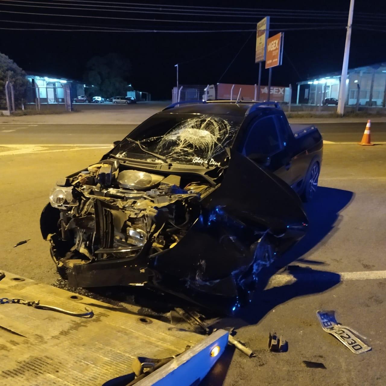 Motorista foge sem prestar socorro depois de acidente que deixou motociclista gravemente ferido em Ponta Grossa