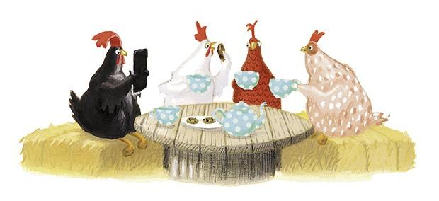 A Fabulosa Máquina de Amigos, texto e ilustrações de Nick Bland, Brinque-book, R$ 38. A partir de 3 anos. (Foto: Reprodução)