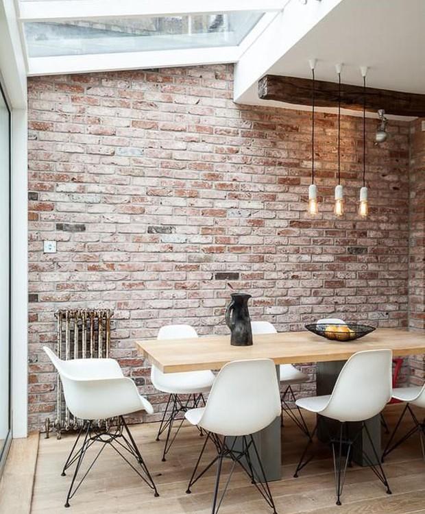 Sala de jantar com claraboia (Foto: Pinterest/Reprodução)