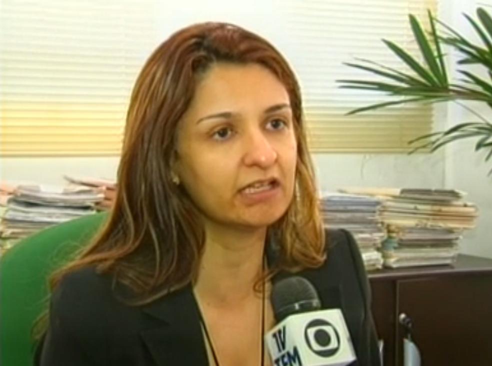Juíza Adriana Nolasco da Silva foi internada em estado grave após acidente (Foto: Arquivo/TV TEM )