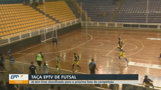 Com classificados, Taça EPTV Central de Futsal tem média de 6,2 gols nesta quinta