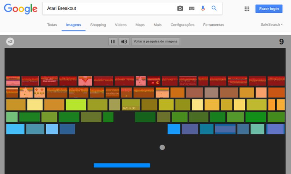 Que tal jogar Breakout no navegador? (Foto: Edivaldo Brito/TechTudo)