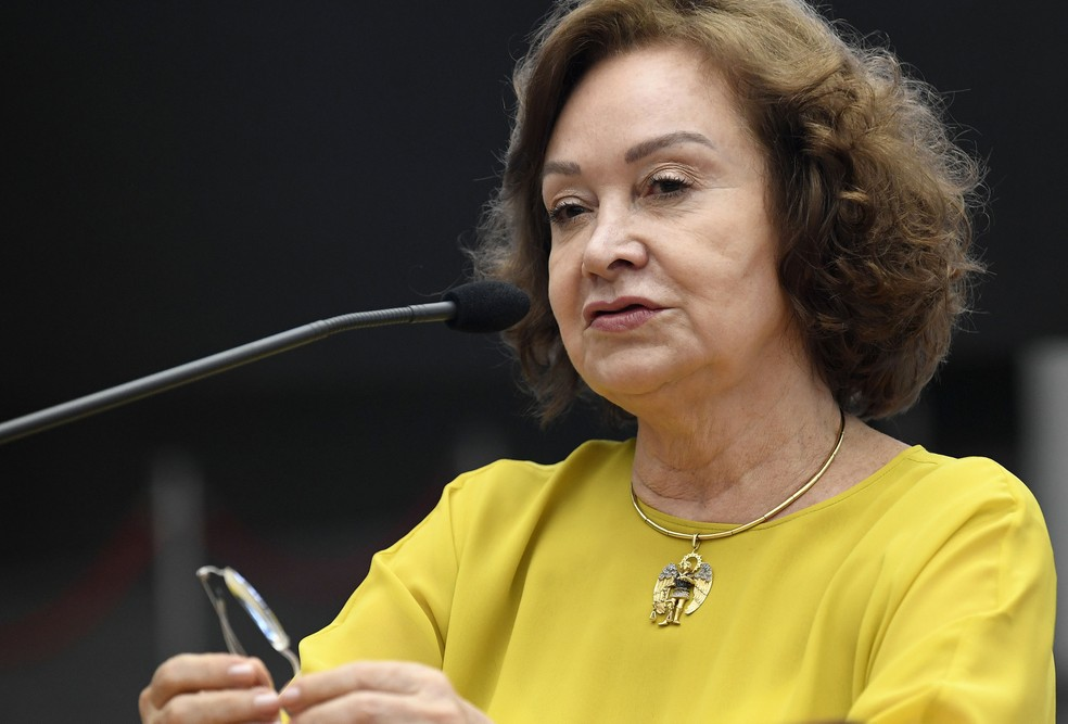 Ministra Nancy Andrighi: voto favorável pelo fato de o caso envolver menor que necessita de cuidados especiais — Foto: Emerson Leal/STJ