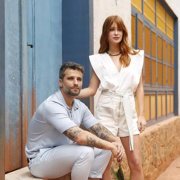 Bruno Gagliasso e Marina Ruy Barbosa (Foto: Reprodução / Instagram)