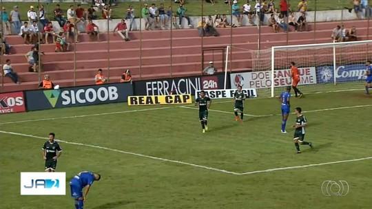 Iporá x Goiás - Campeonato Goiano 2019 - globoesporte.com