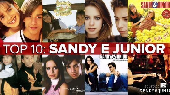 Sandy e Junior, o legado: top 10 tem versões, brega romântico, letra polêmica e grunge mirim