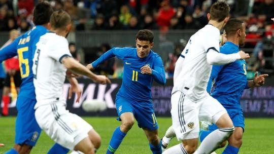 Veja os gols e os melhores momentos de Brasil 3 x 0 Rússia