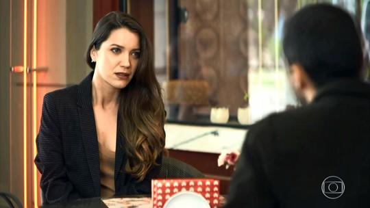 Fabiana decide depor contra Chiclete
