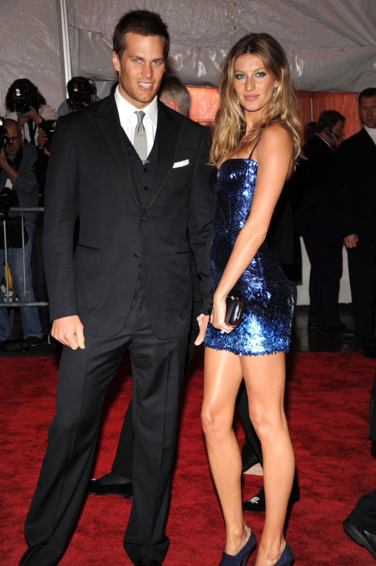 Gisele Bundchen, de Versace, no Baile do Met de 2009 (Foto: Getty Images)