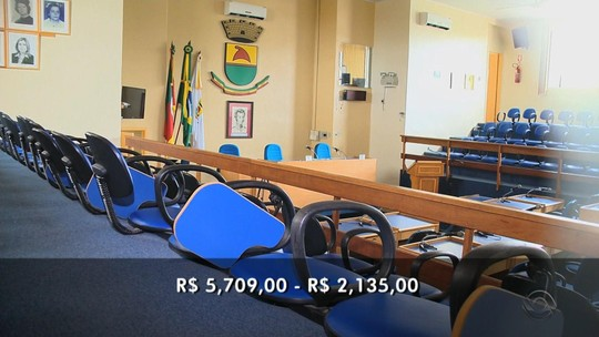 Após redução, vereadores tentam elevar salários para R$ 3,5 mil no RS