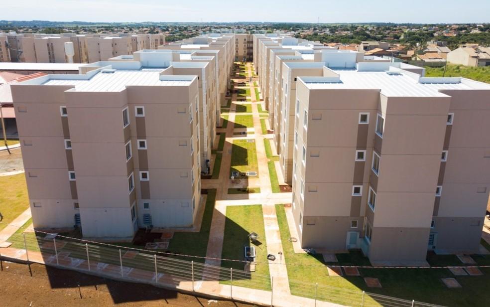 Residencial Porto Dourado I, em Goiânia — Foto: Divulgação/Agehab