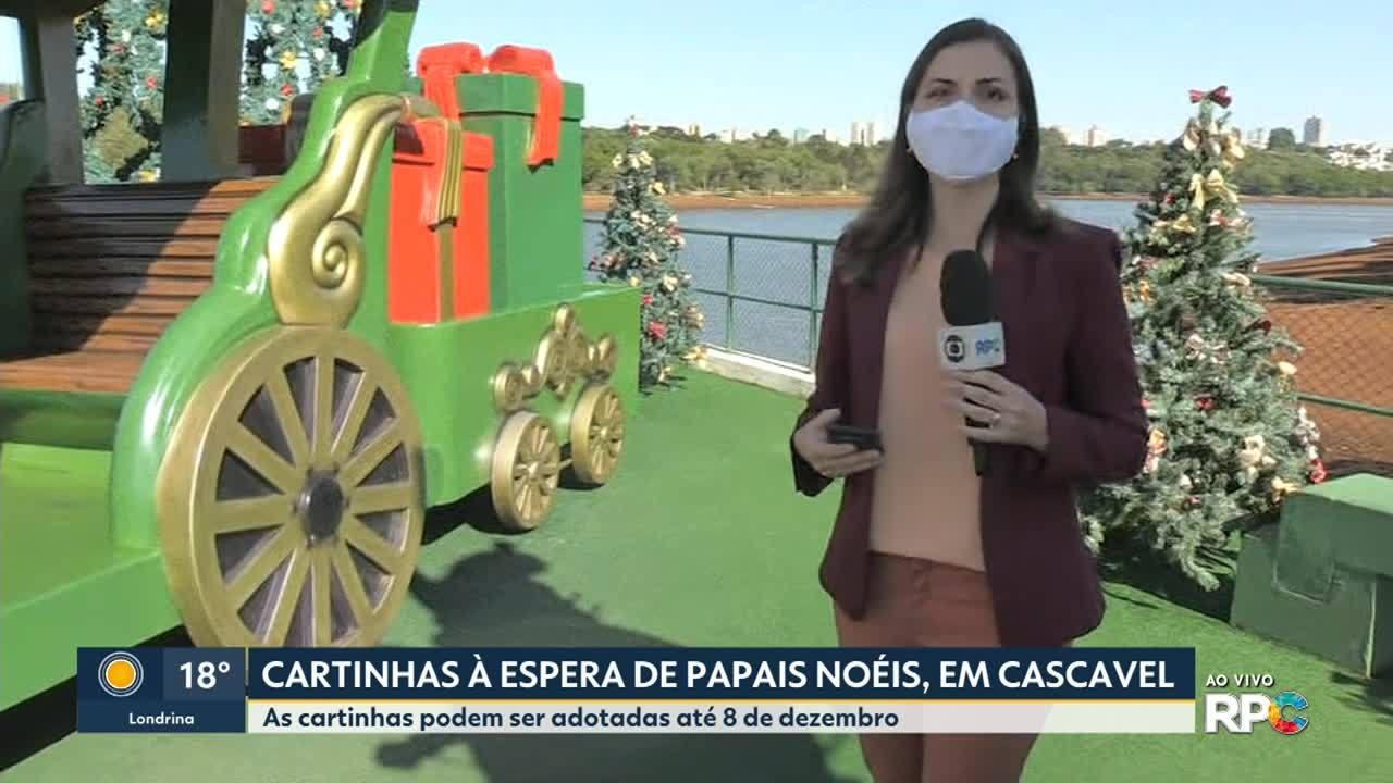 Cartinhas estão à espera de Papais Noéis em Cascavel