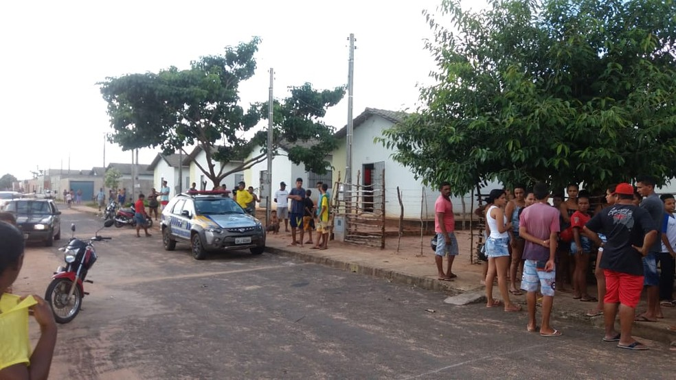 Crime aconteceu em Araguaína, norte do Tocantins — Foto: Divulgação